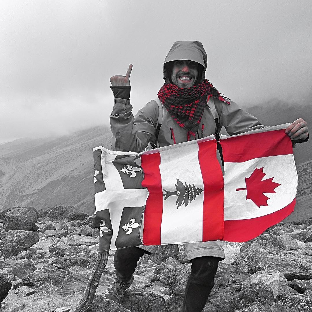 Coming together is a beginning, keeping together is progress and working together is success 🇨🇦❤️🇱🇧 (Mount Kilimanjaro)