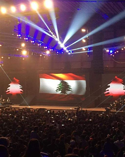 """انطلاق حفل """"One Lebanon"""" بيروت في البيال - وسط"""