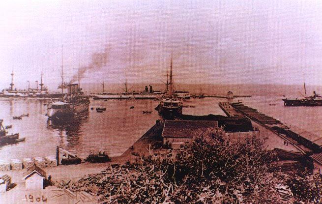 Beirut Port 1904