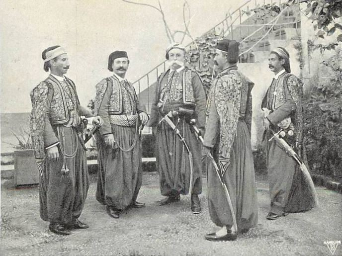 Beiruti Generals 1880s