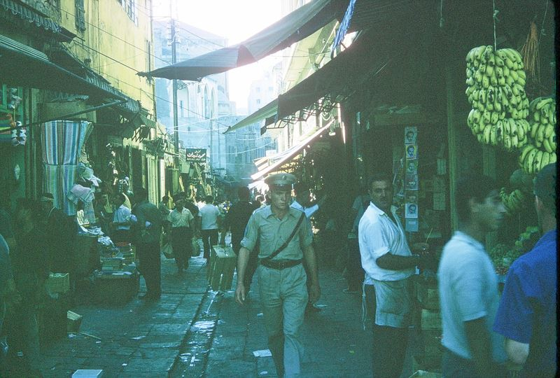 Souk in Beirut 1960s