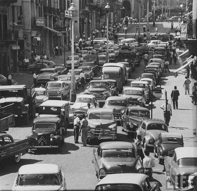 Allenby Street 1958