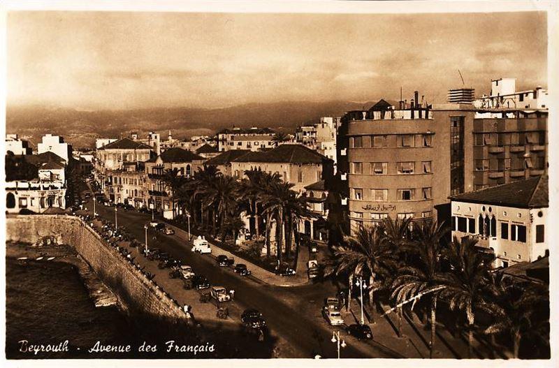 Avenue des Francais 1950