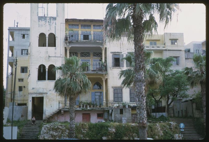 Old Building in Beirut 1965
