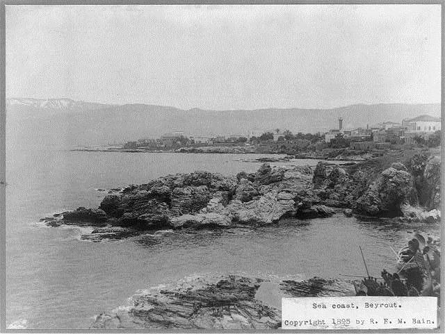 Beirut Sea Coast 1895