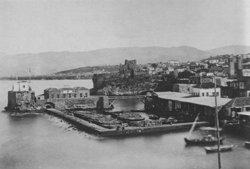Beirut Harbour 1875