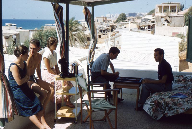 Friends in Beirut 1960s
