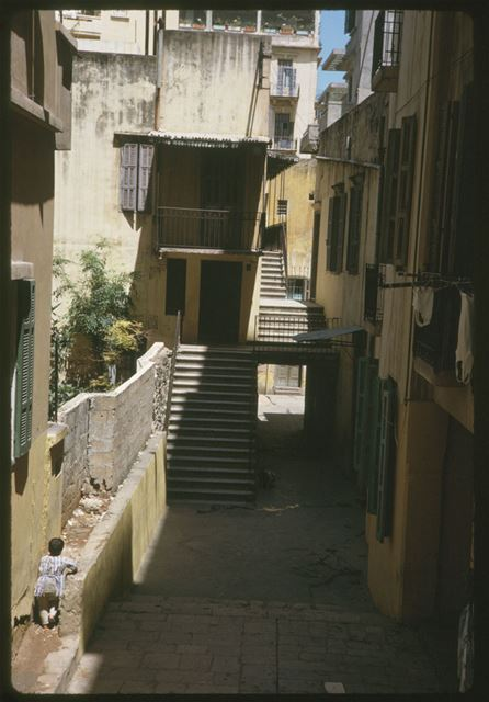 Old Homes in Beirut 1965