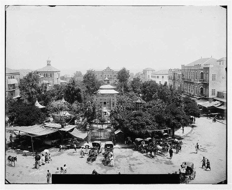 Martyrs Square  1898