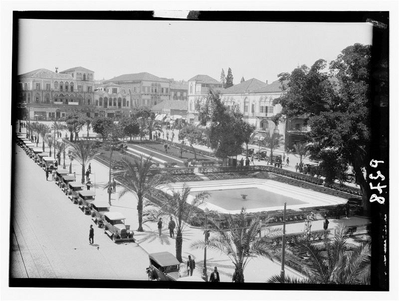 Martyrs Square  1930