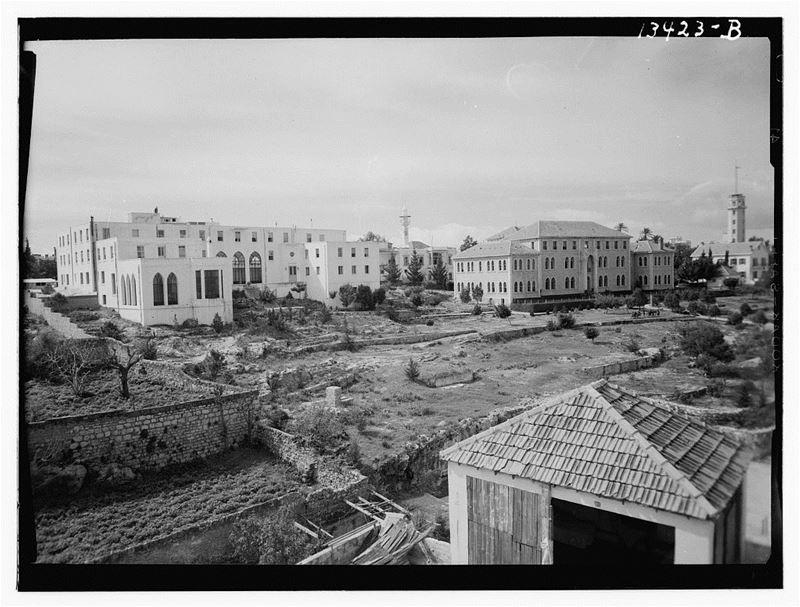 Near Sadat Street 1940s