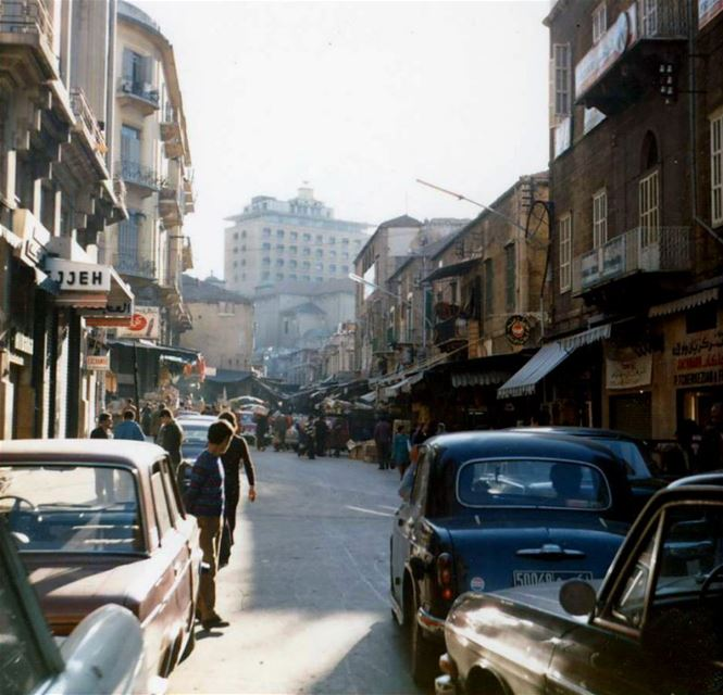 Downtown Beirut 1975