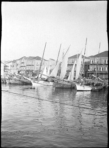 Beirut harbour 1911