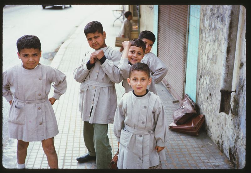 Beiruti school boys 1965