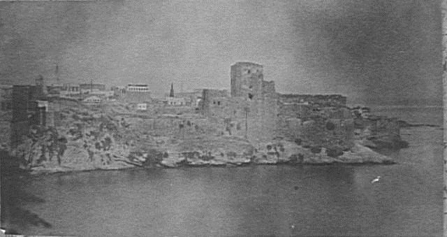 Castle of the Harbour  1860
