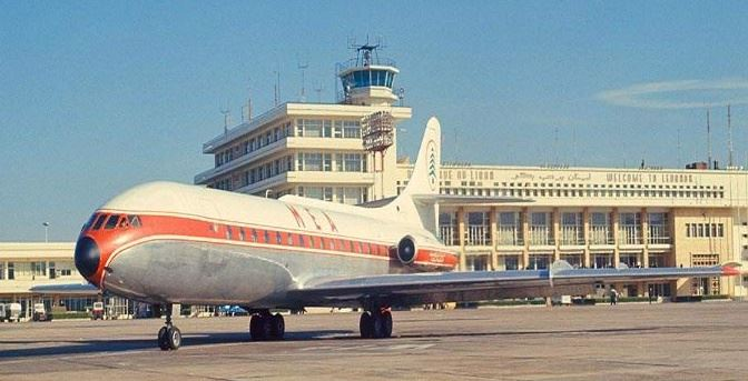 Beirut International Airport 1968