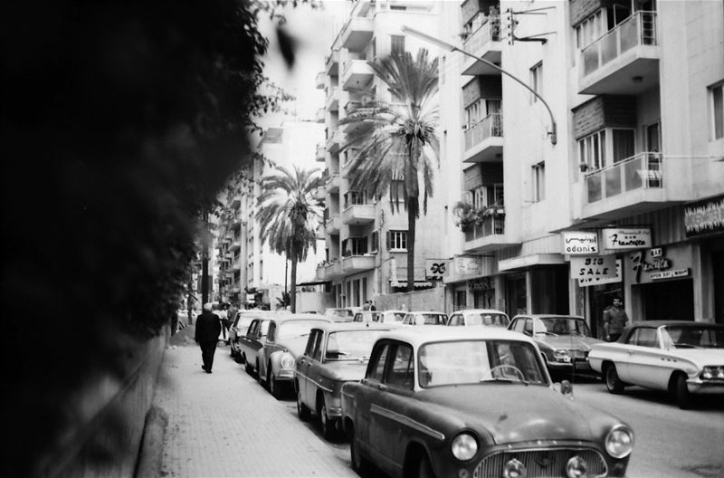 A Street in Beirut  1971