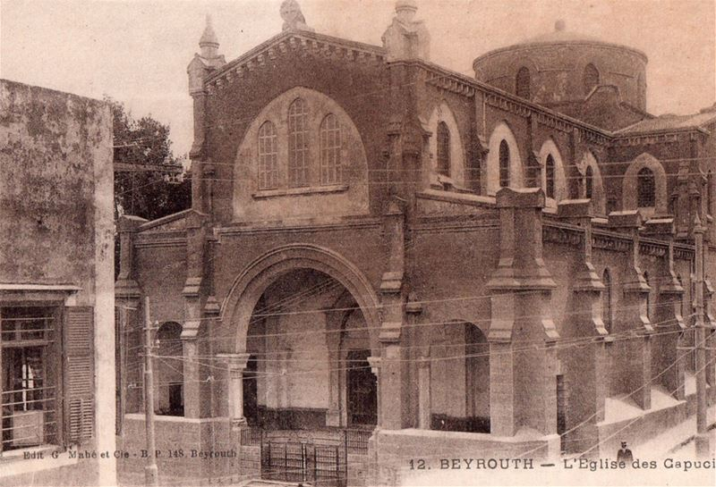 Saint Louis Capuchin Church  1900s