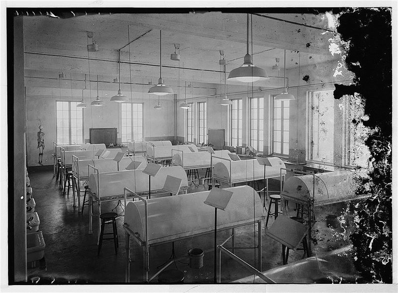 AUB Medical Classroom  1920s