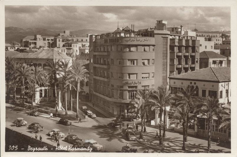 Hotel Normandy, Avenue Des Francais 1950s
