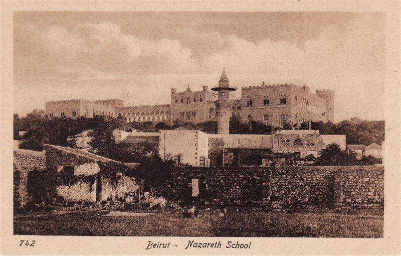 Nazareth School 1880s