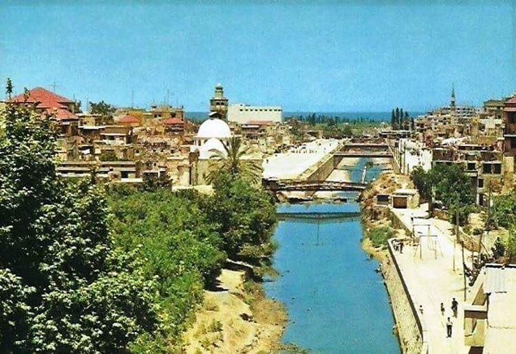 Tripoli Nahr Abu Ali - 1968