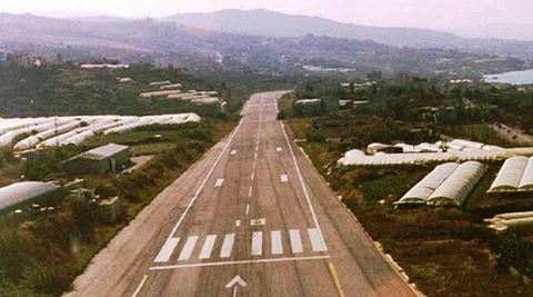 Runway on Highway in Halat c.1983