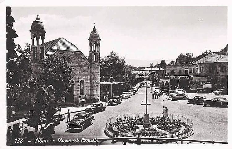 Dhour Ech Choueir 1954 .#Livelovelebano