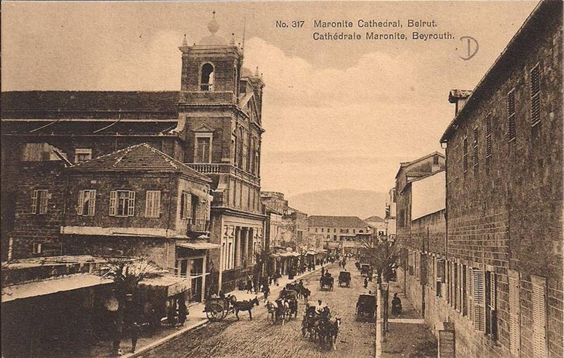 Saint Georges Maronite Cathedral  1890s