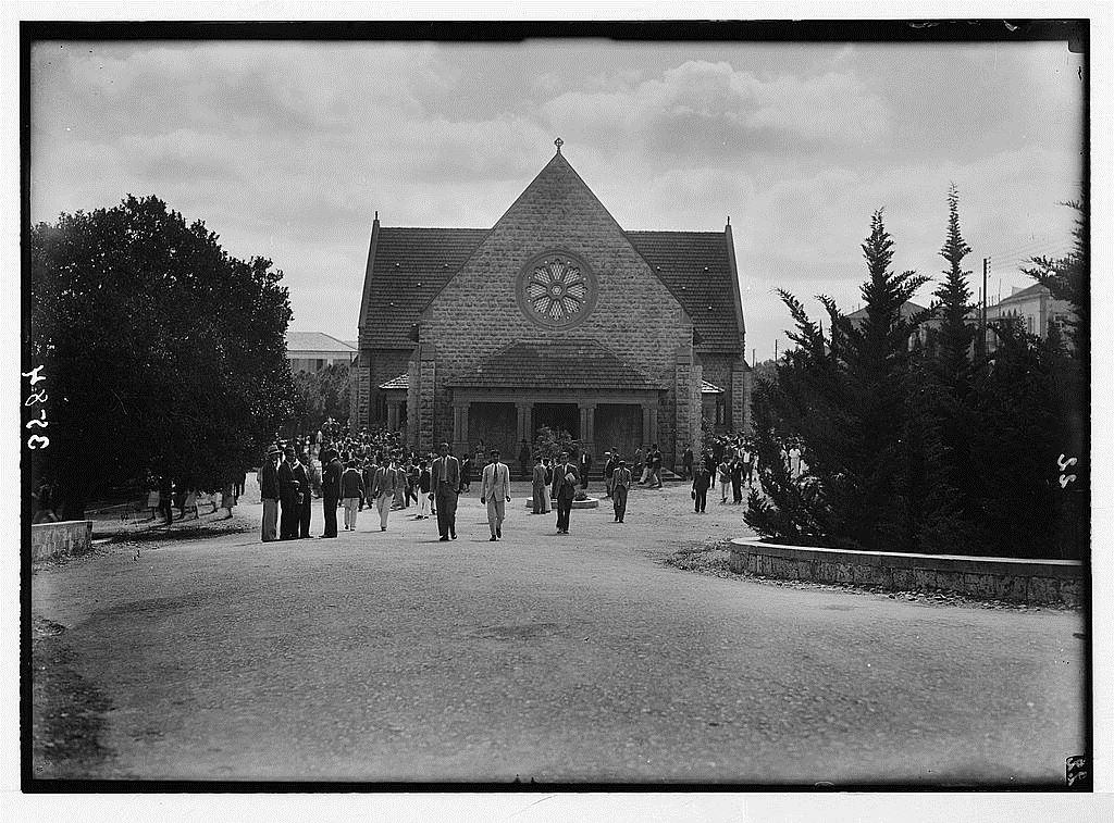 AUB Assembly Hall 1920s