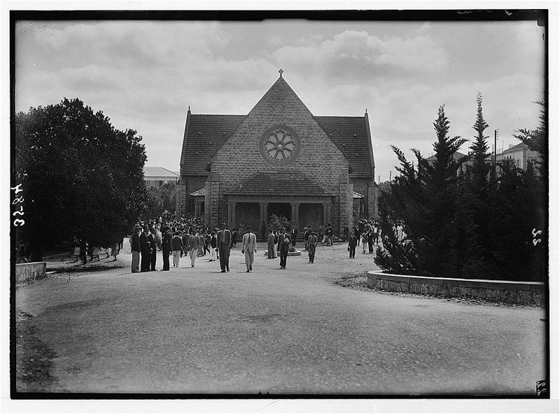 AUB Assembly Hall  1920s