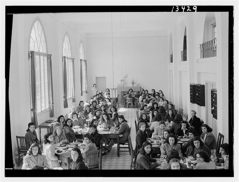 Junior Girls College Dining Hall  1946