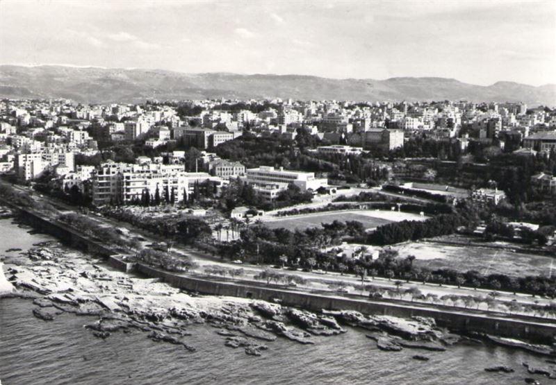 Beirut Corniche 1958
