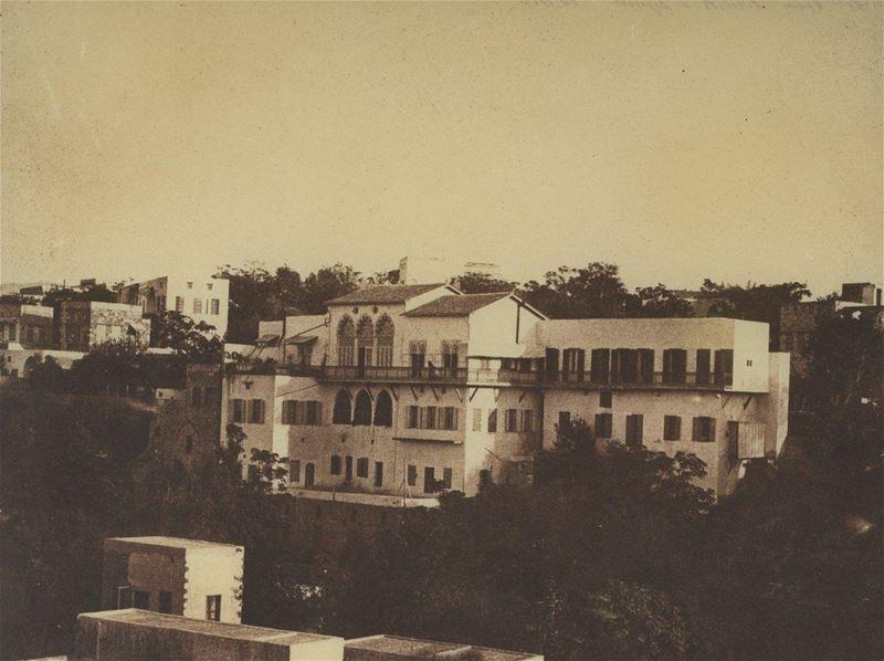 Beirut, Maison Picciotto 1860