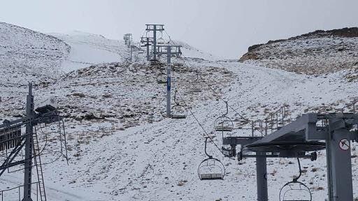 First Snow (Kfardebian, Kesrwan, Lebanon)