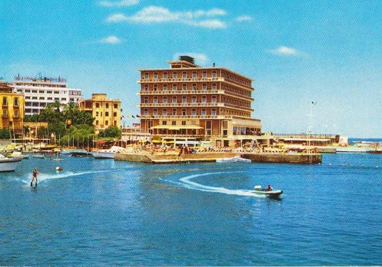 Beirut Saint George Hotel - 1968
