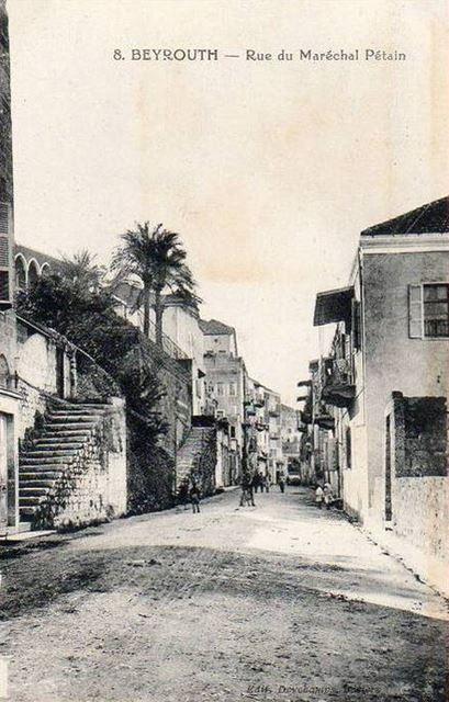 Marshal Petain Street 1890s