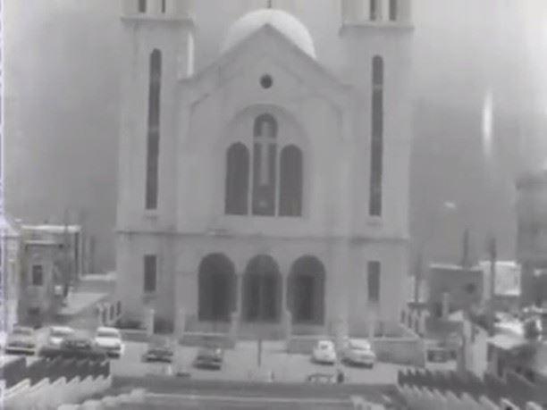 Mar Saba Church Bcharre 1973 (Bcharre, North Lebanon)