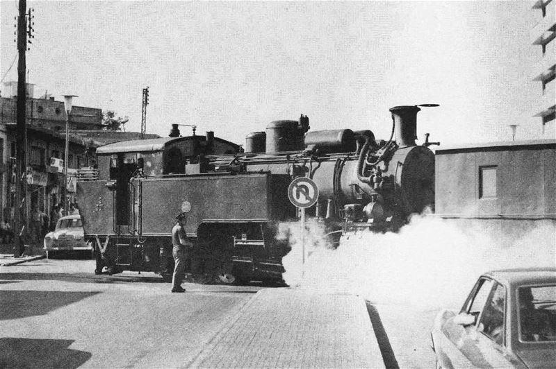 Lebanese Train Beirut 1972