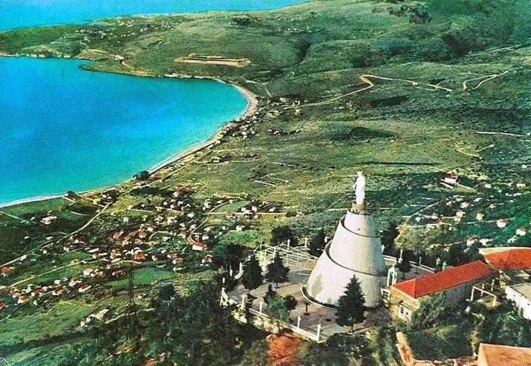 صباح الخير من لبنان حريصا جونية سيدة لبنان ١٩٦٢ .