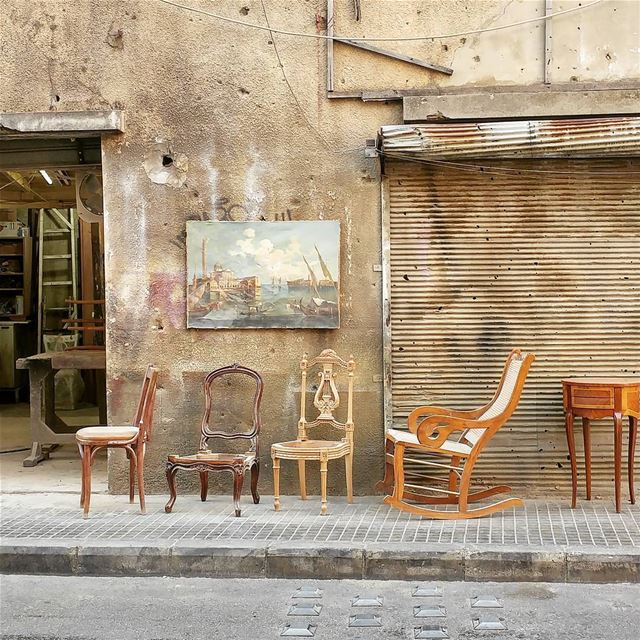 Wooden Chairs (Achrafieh, Beirut)