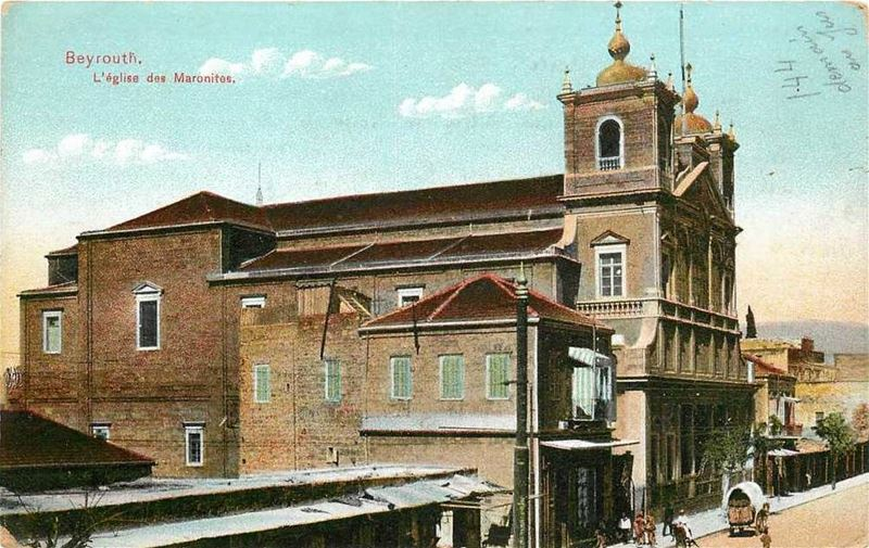 Saint George Maronite Cathedral  1900s