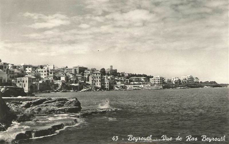 Beirut Seafront 1920s