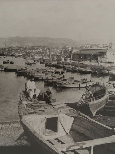 Beirut Harbour 1880s