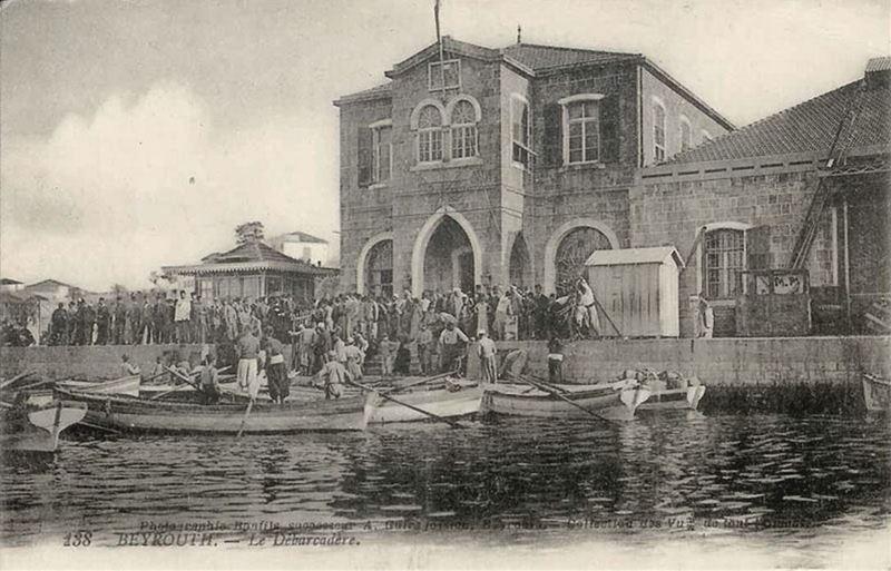 Beirut Port 1890s
