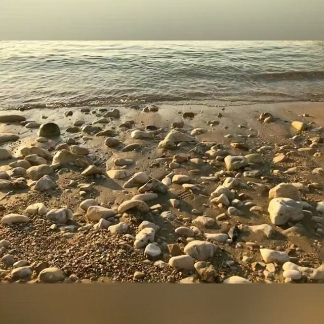 Here's a soothing sight and sound to help you get through Monday! Works like a charm for me💆🏼🐚🌊 (Tabarja)
