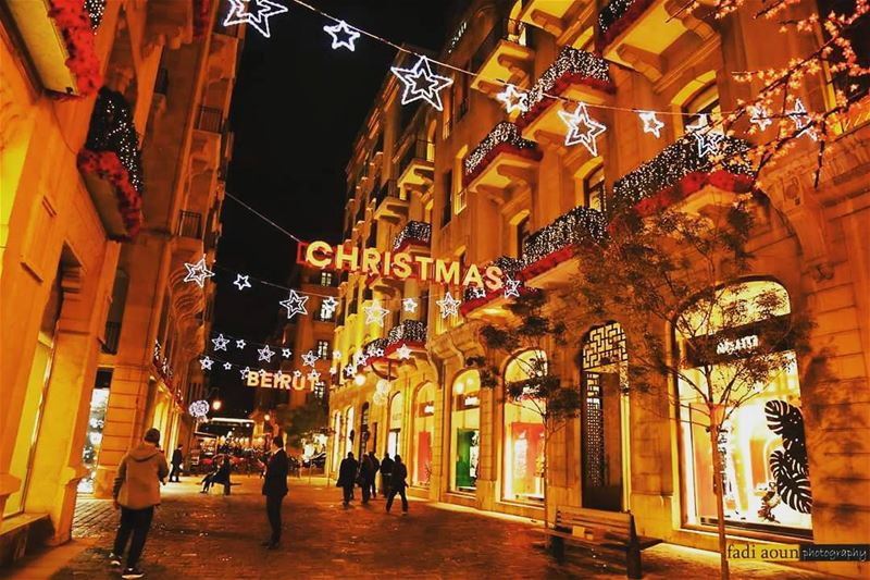 Beirut Down Town Christmas Decorations