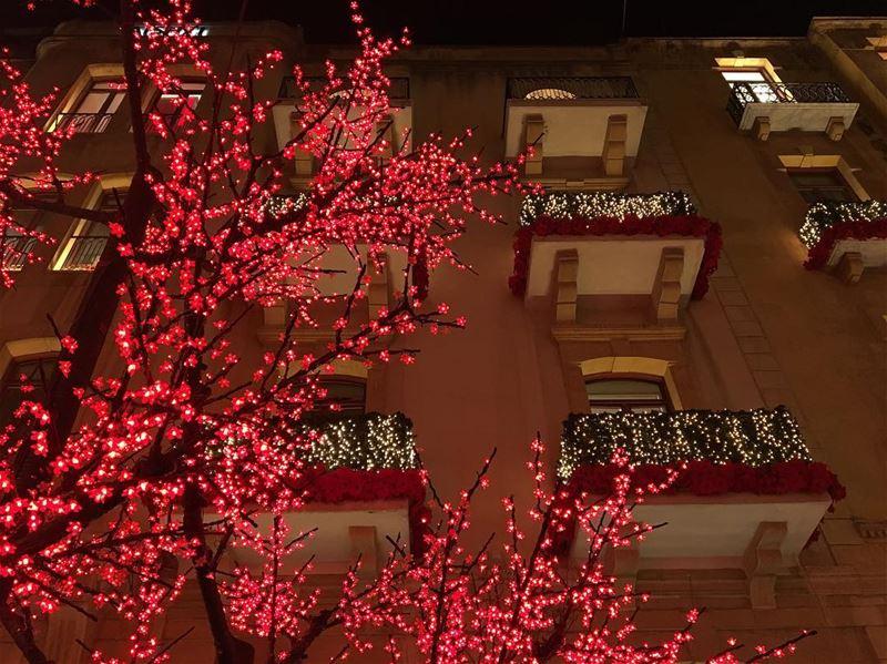 Christmas in Beirut ❤️ (Beirut, Lebanon)