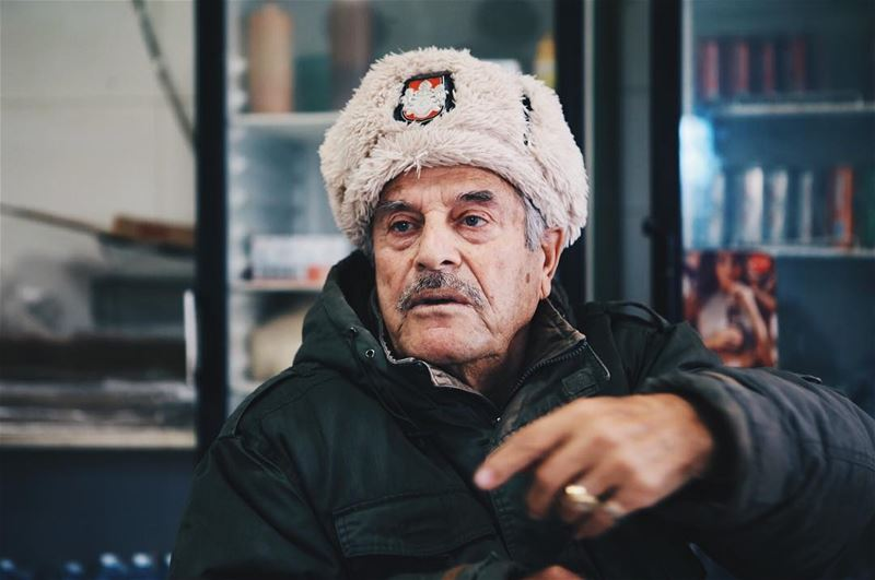 Tanios, an 82 years old man  (Byblos)