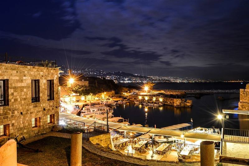 .Beautiful Byblos at night! - 25 sec Long exposure (Byblos, Lebanon)